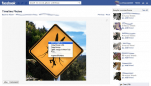 how to download images on facebook