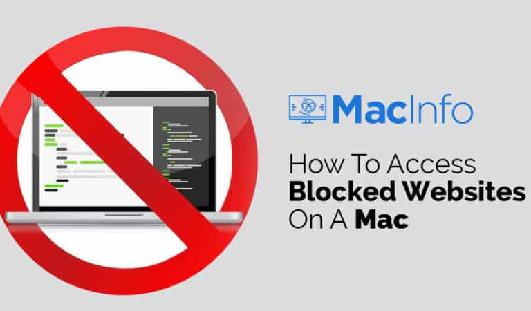 How To Access Blocked Websites On A Mac