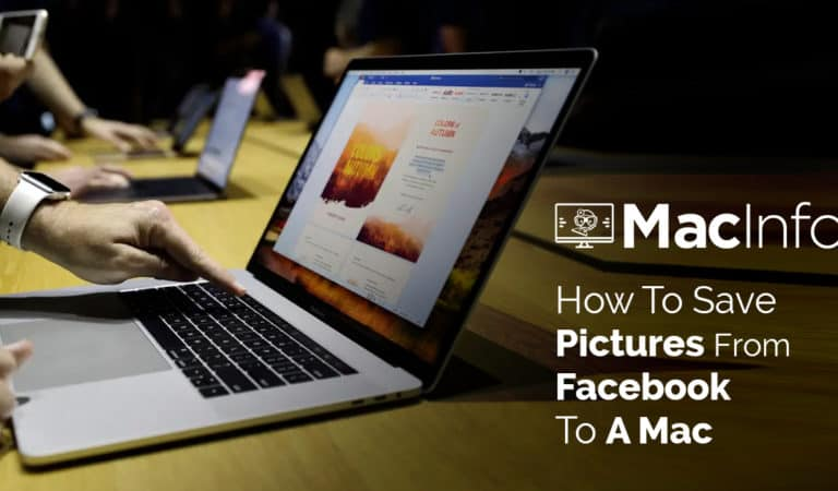 How To Save Pictures From Facebook To A Mac