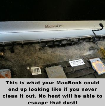 how to stop macbook from getting so hot