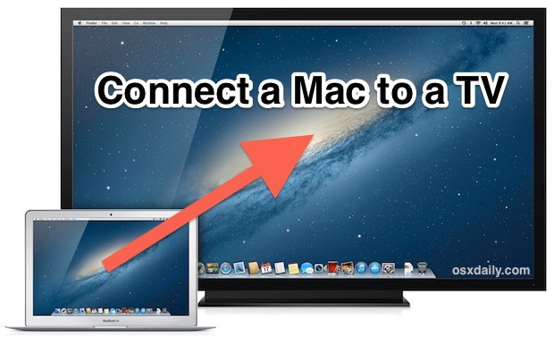 How to connect your MacBook to a TV
