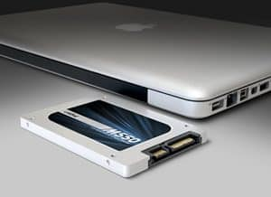 upgrading macbook ssd