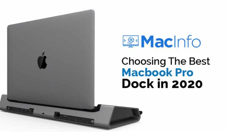 Choosing The Best Macbook Pro Dock in 2020