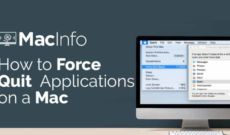How to Force Quit Applications on a Mac